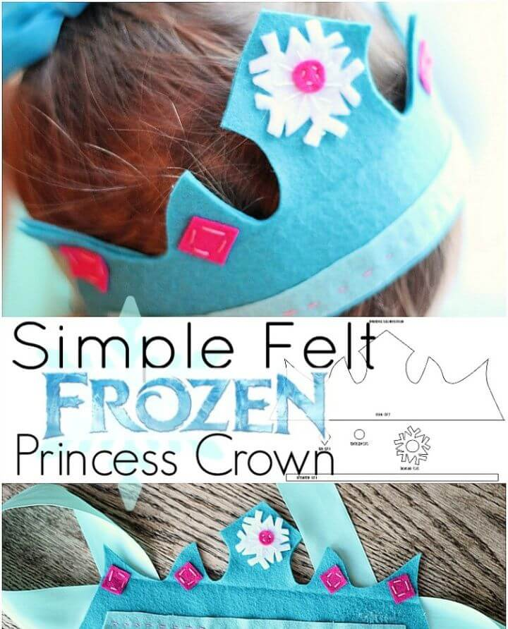 Simple Frozen Princess Crown