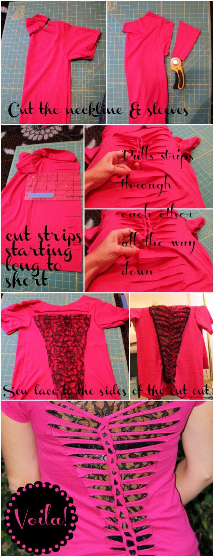 Simple T Shirt Refashion
