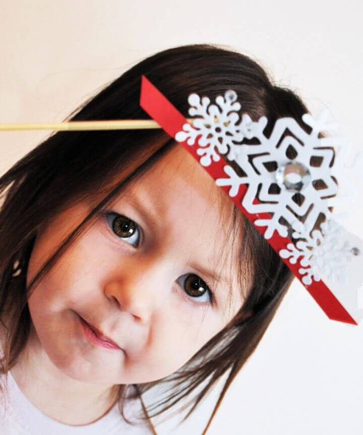 Snowflake Princess Crown Photo Prop