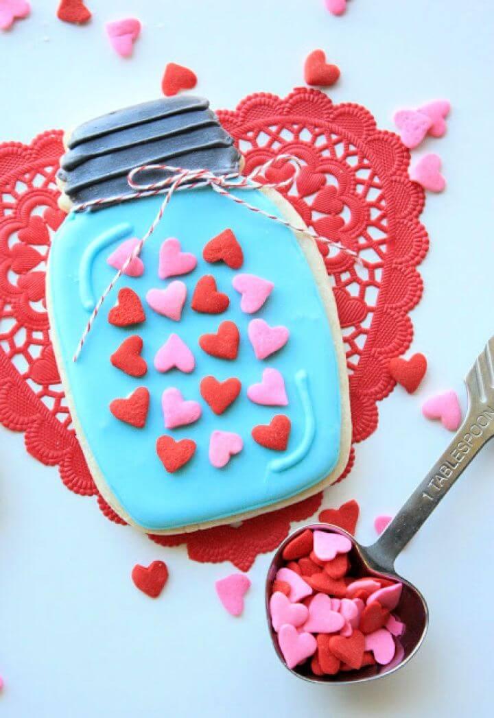 Sprinkled With Love Mason Jar Cookies