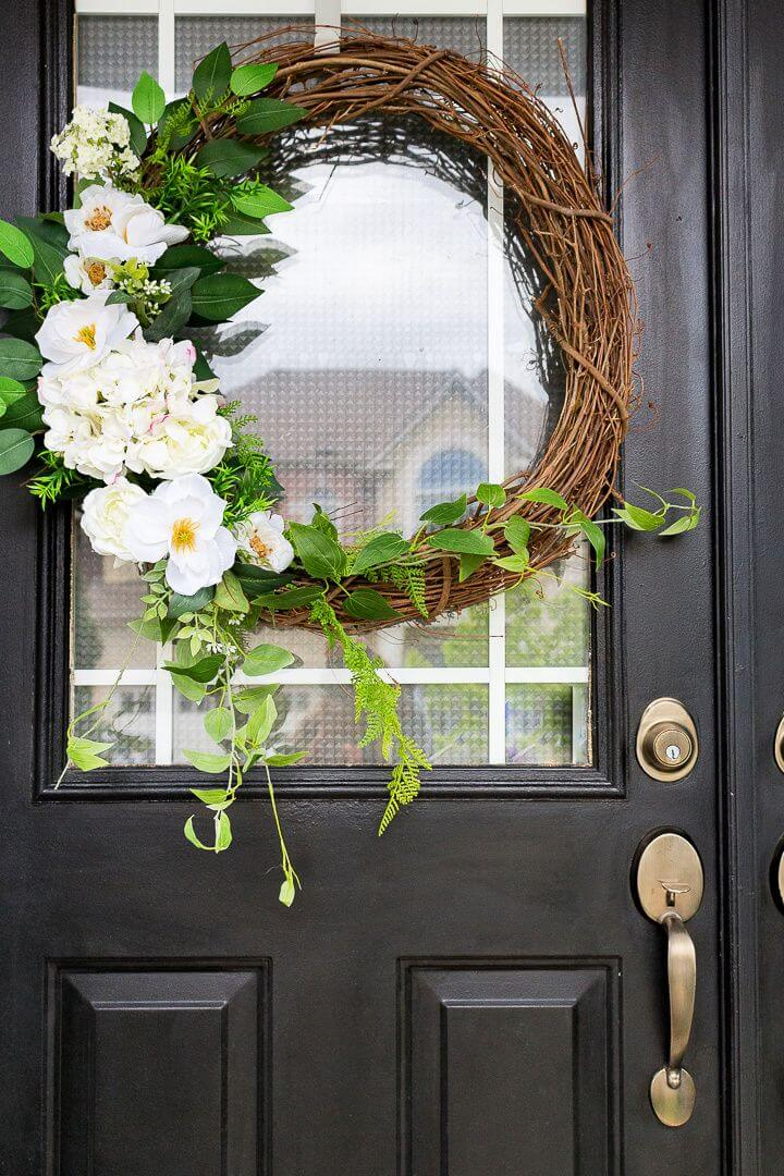 Super And Easy Summer Wreath
