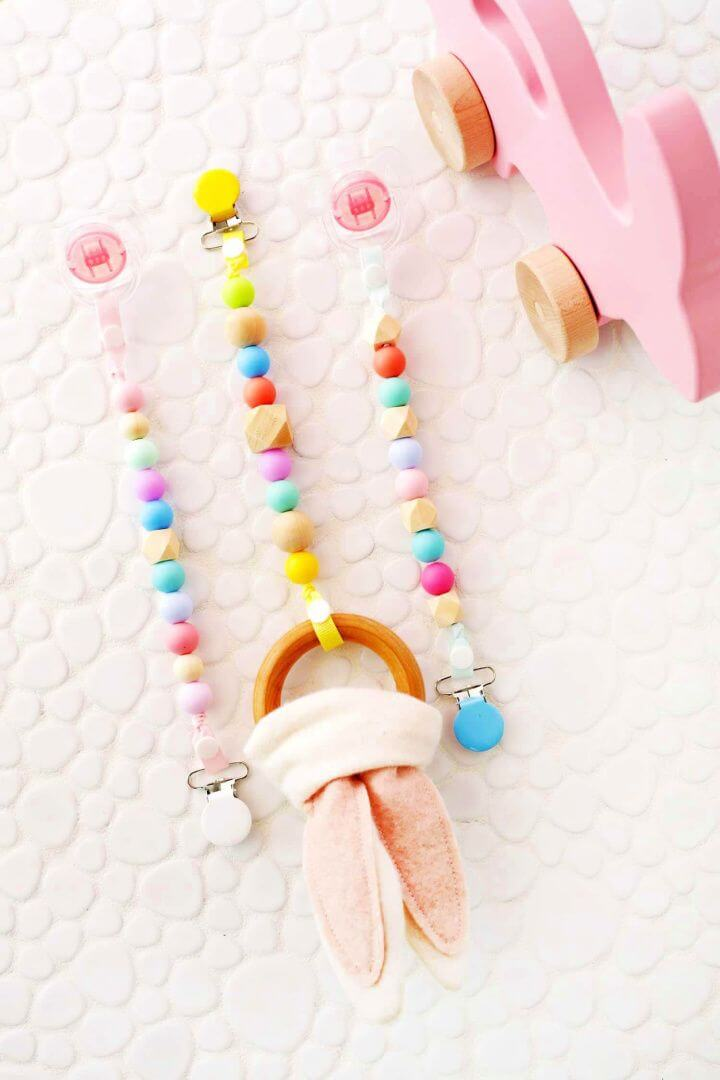 Teether And Pacifier Clip