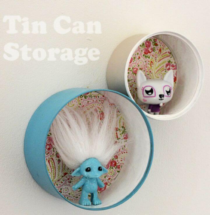 Tin Can Shelf Craft