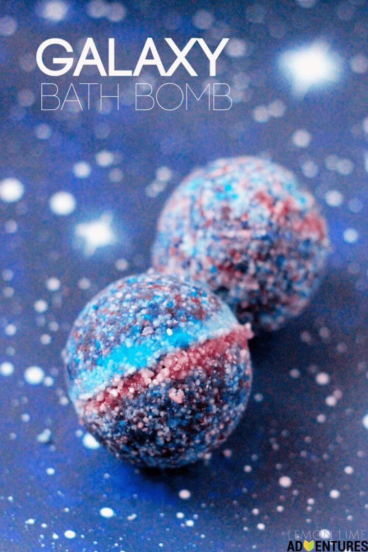 Totally Awesome Galaxy Bath Bombs