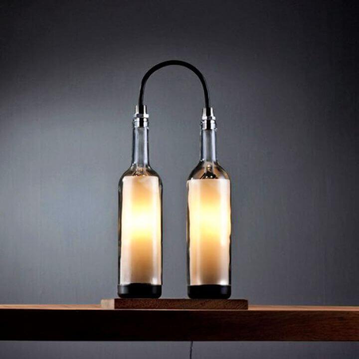 Wine Bottle Lamp Series