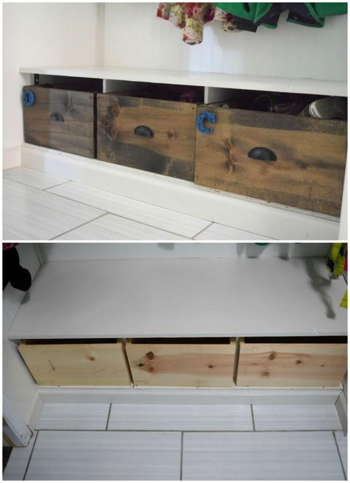 Wood Shoe Box Organizer