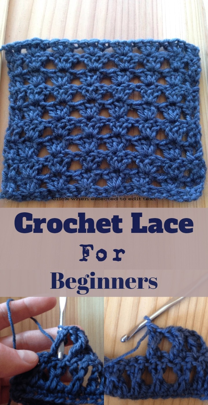 Crochet Lace For Beginners
