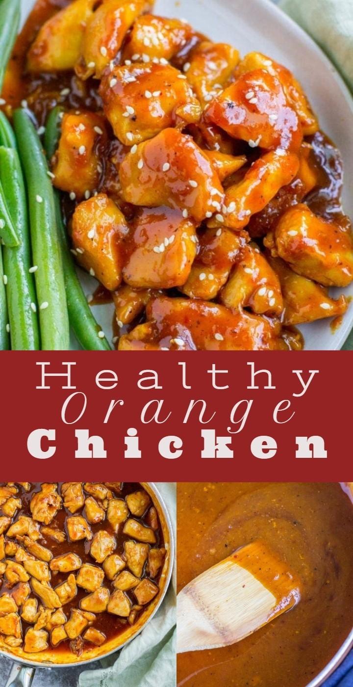 Healthy Orange Chicken 1