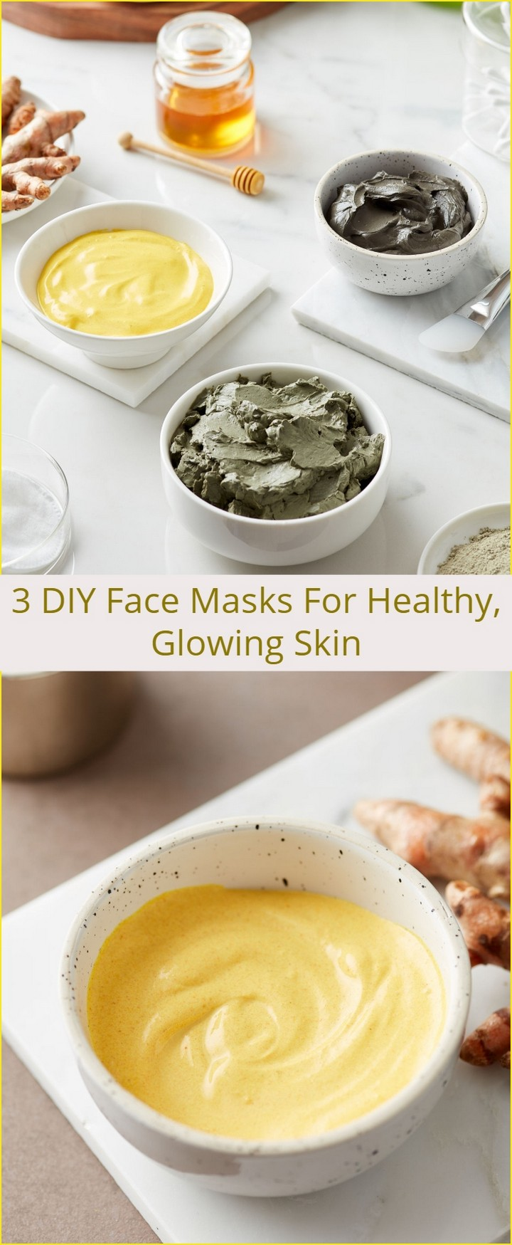 3 DIY Face Masks For Healthy Glowing Skin 1