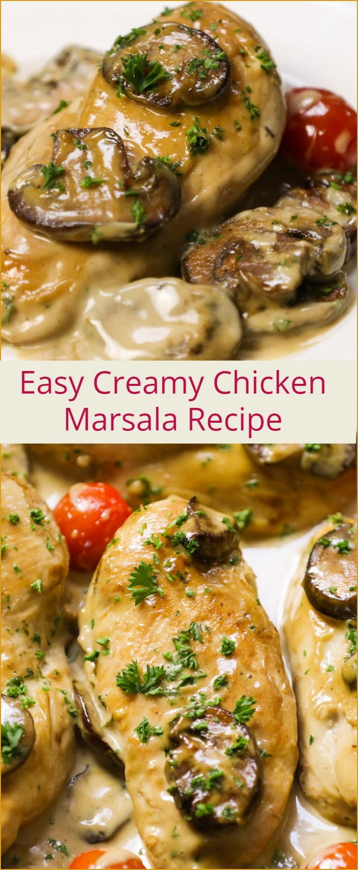 Creamy Chicken Marsala Recipe 1 1