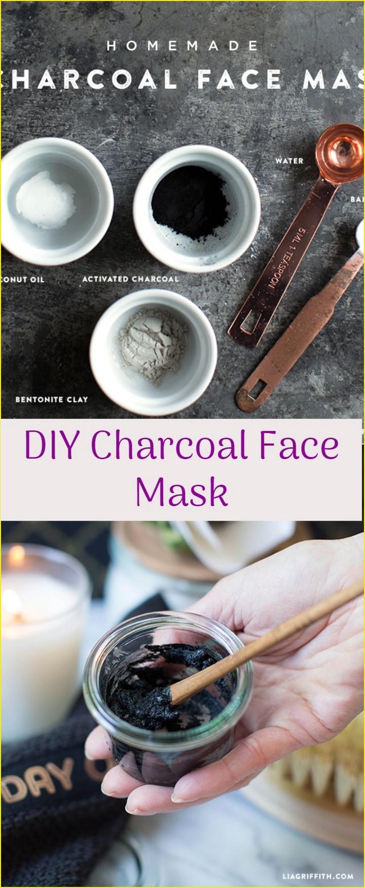 DIY Charcoal Face Mask 1