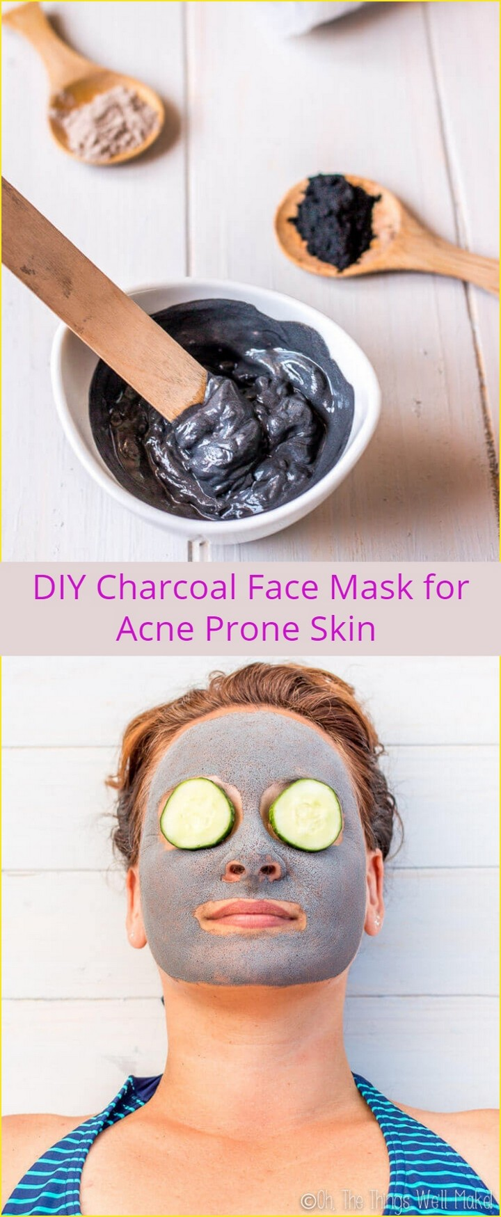 DIY Charcoal Face Mask for Acne Prone Skin 1