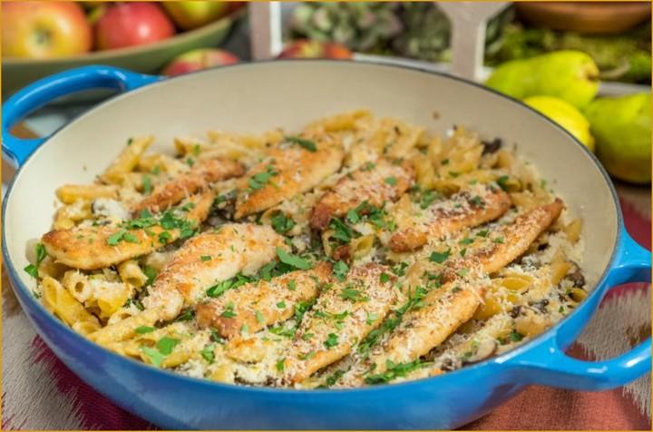 Easy To Make Chicken Marsala Pasta 1