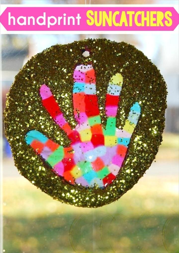 Handprint Suncatchers