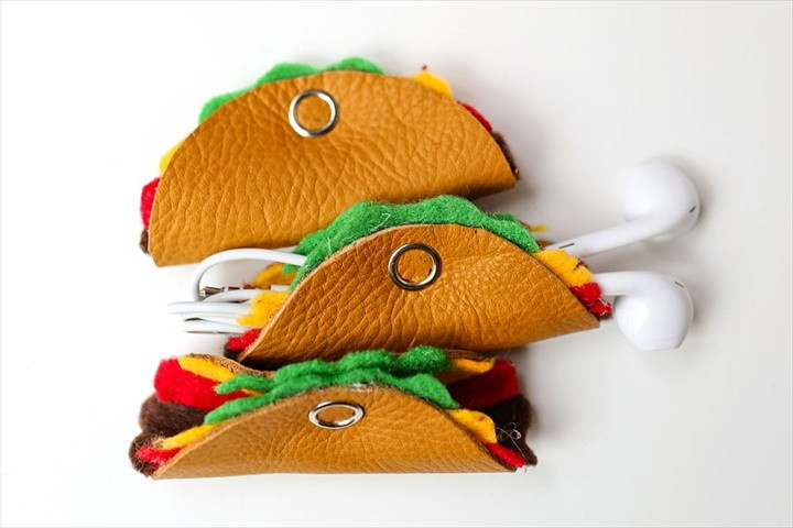 How To Make The Cutest Cord Tacos