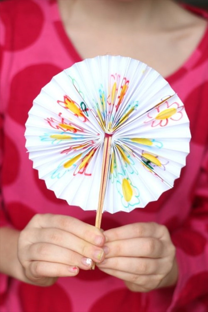 How to Make a Pocket Folding Fan