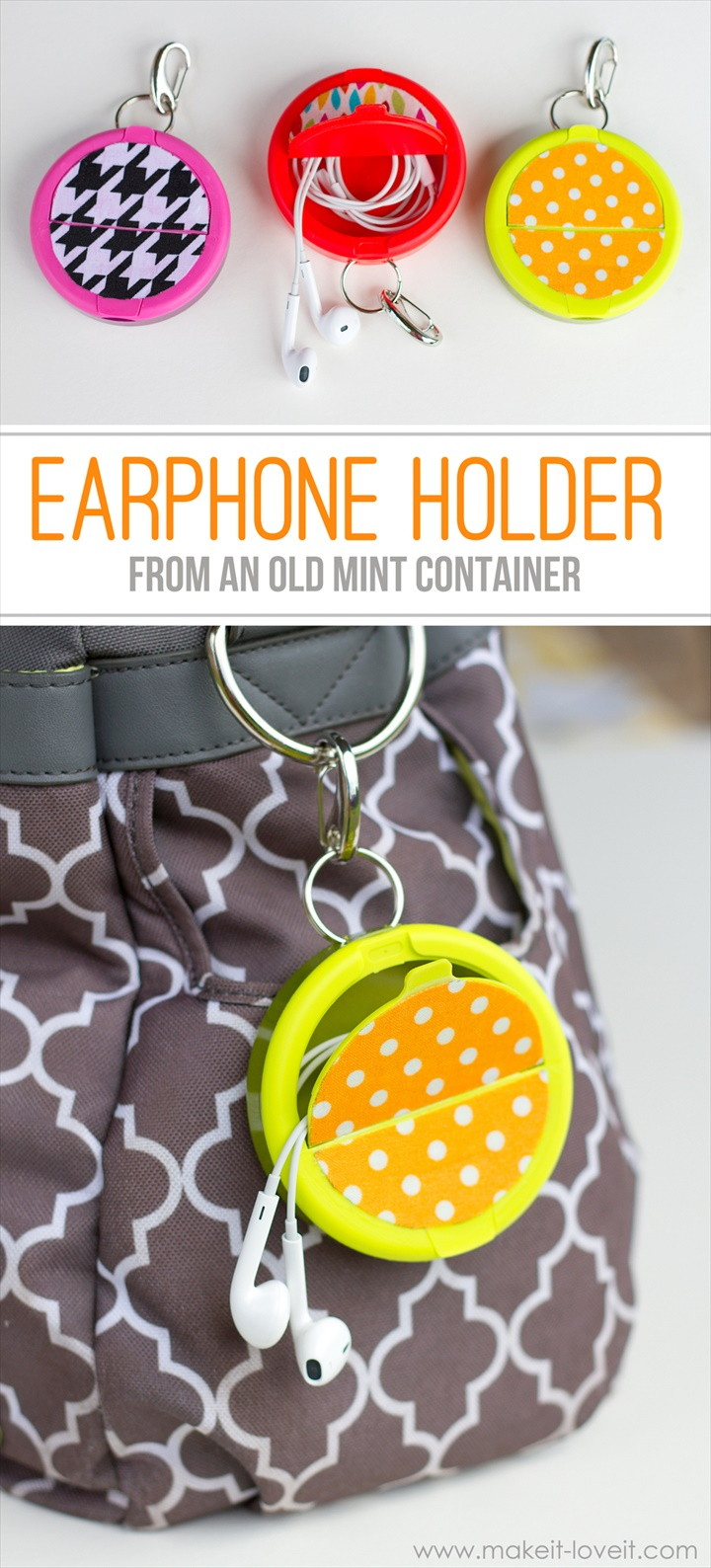 Make An Earphone Holder