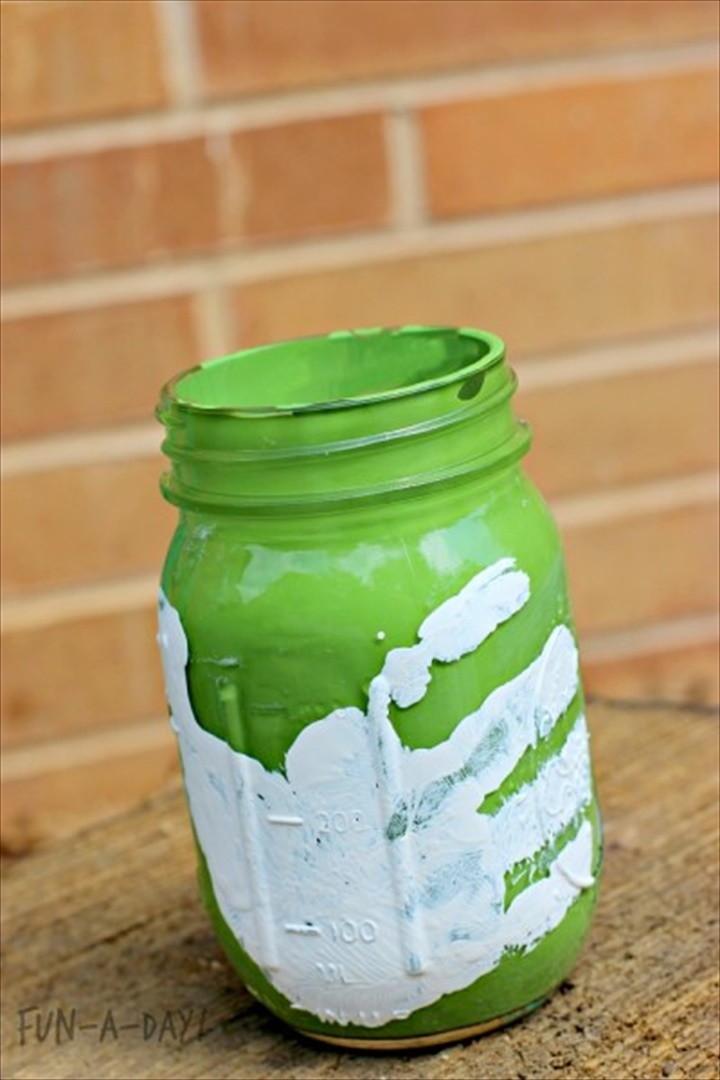Mason Jar Craft for Kids to Make as a Gift
