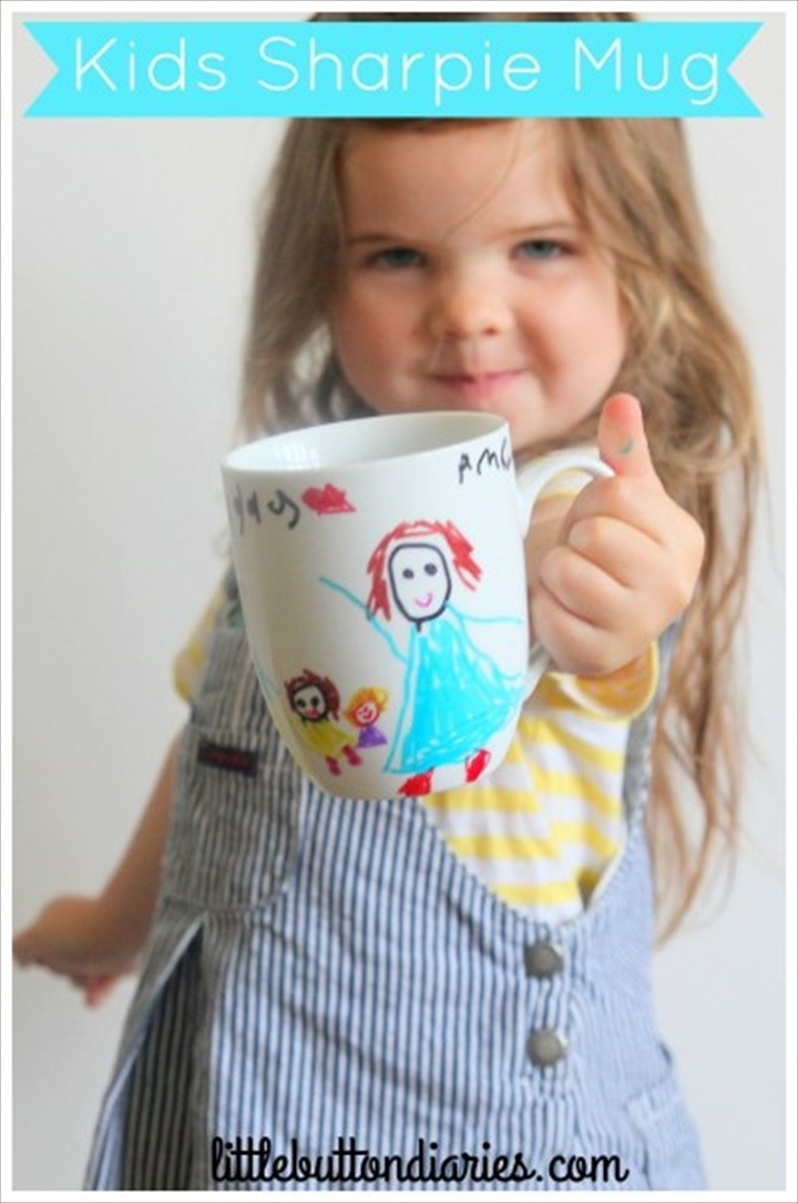 Quick Easy Fathers Day Mug