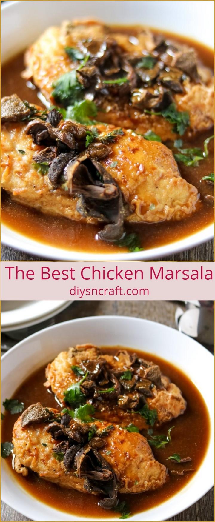 The Best Chicken Marsala 1 1